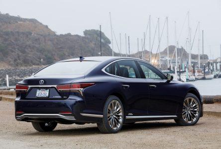 Lexus LS 500 2018 – Beaucoup de chemin parcouru