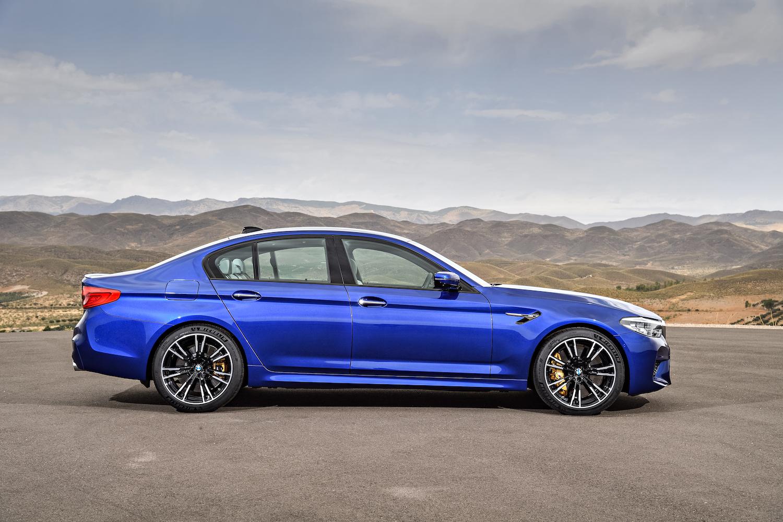 BMW M5 – Il ne manque que l'Autobahn