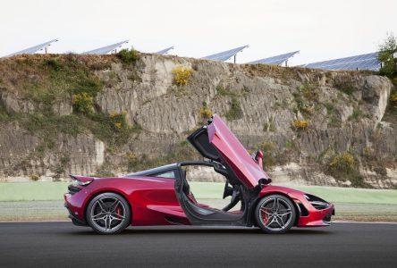 McLaren 720S- Course à l'armement