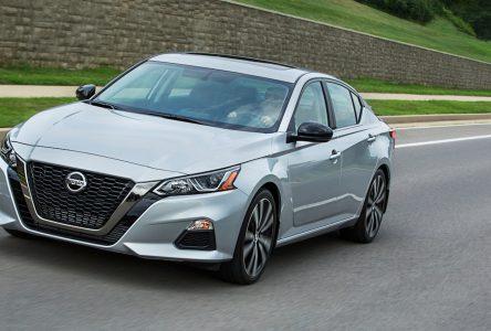 Nissan dévoile les prix de l'Altima 2019