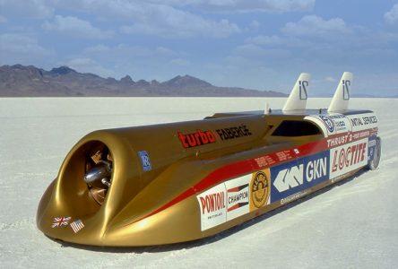 4 octobre 1983 – Le Thrust 2 bat un record de vitesse au sol
