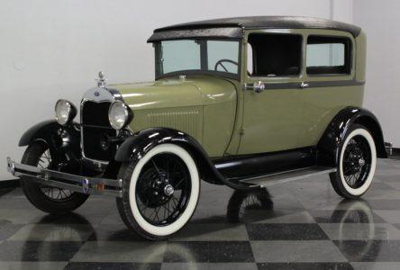 1er novembre 1927 – Ford lance le modèle A
