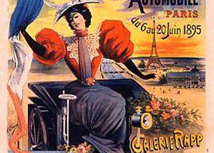 11 décembre 1894- Premier Salon de l'auto au monde