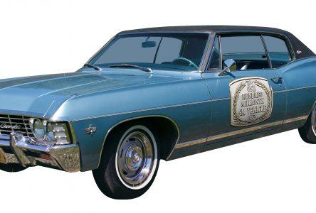 21 avril 1967- GM atteint les 100 000 000 de ventes