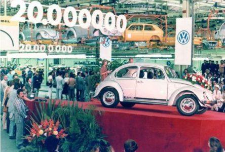 15 mai 1981 – Volkswagen construit sa 20 000 000e Beetle