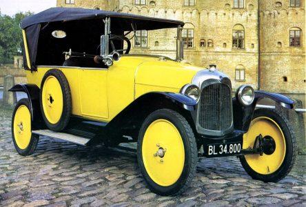 28 mai 1919 – Première voiture Citroën