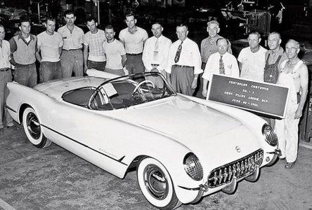 30 juin 1953 – La première Corvette est construite