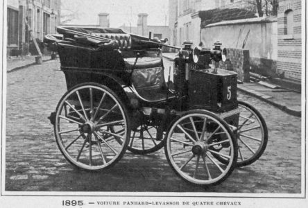 13 juin 1895 – Première course automobile