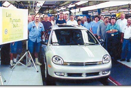 28 juin 2001 – Construction de la dernière Plymouth