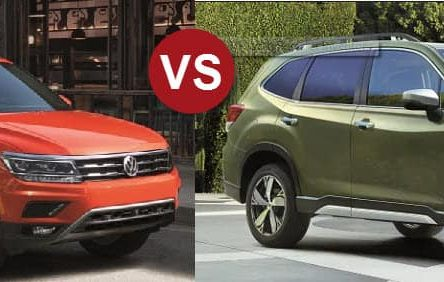 Subaru Forester 2019 vs Volkswagen Tiguan 2019 –