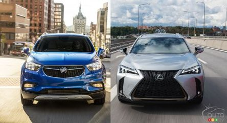 Buick Encore VS Lexus UX – Origine modeste