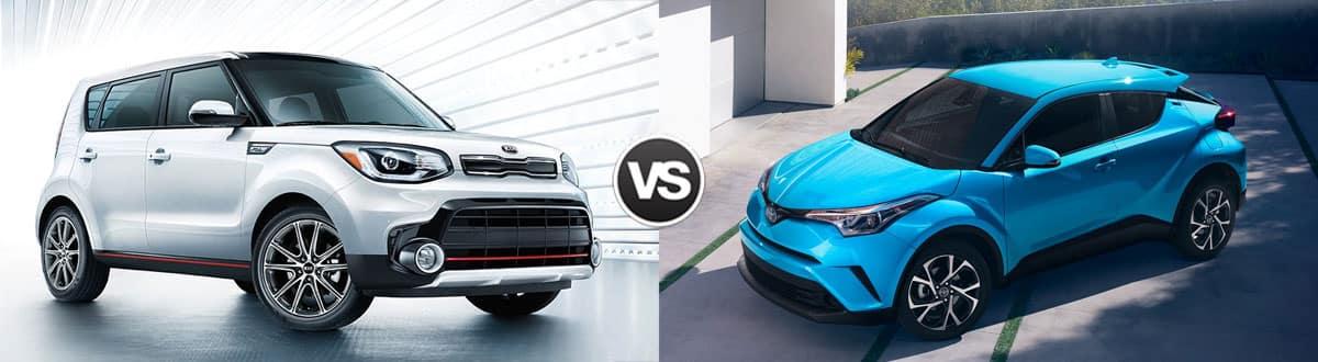 Kia Soul 2019 vs Toyota C-HR 2019 – Pour le style d'abord