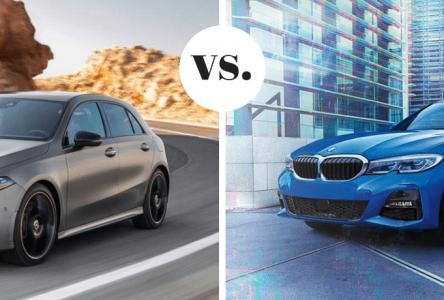 Mercedes Classe A vs BMW Série 2 – Dans les petits pots…