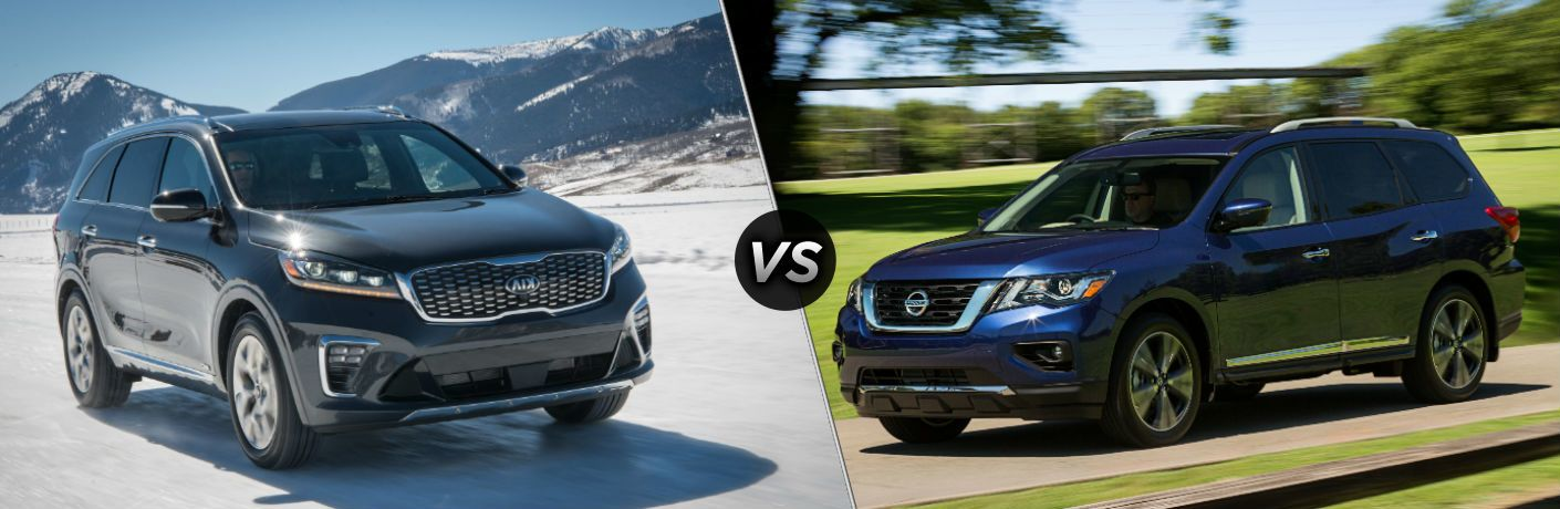 Kia Sorento vs Nissan Pathfinder – Compromis familial