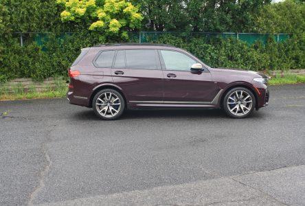 BMW X7 M50i – Gros et rapide