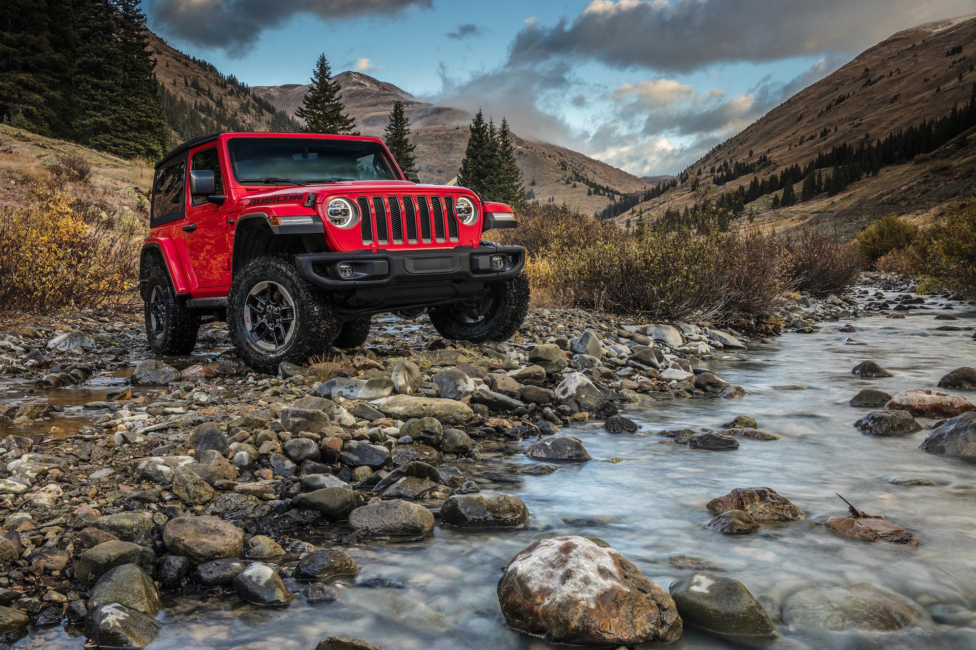 Jeep Wrangler Rubicon – Charme rustique