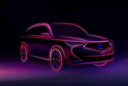 Un nouvel Acura MDX sera dévoilé le 14 octobre prochain