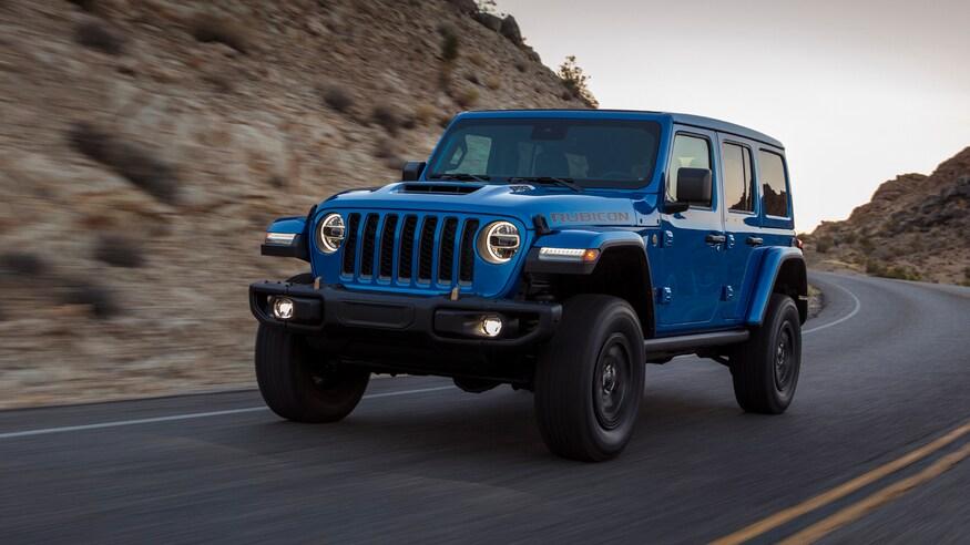 Un Jeep Wrangler V8
