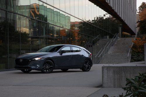 Une Mazda 3 haut de gamme pour 2021