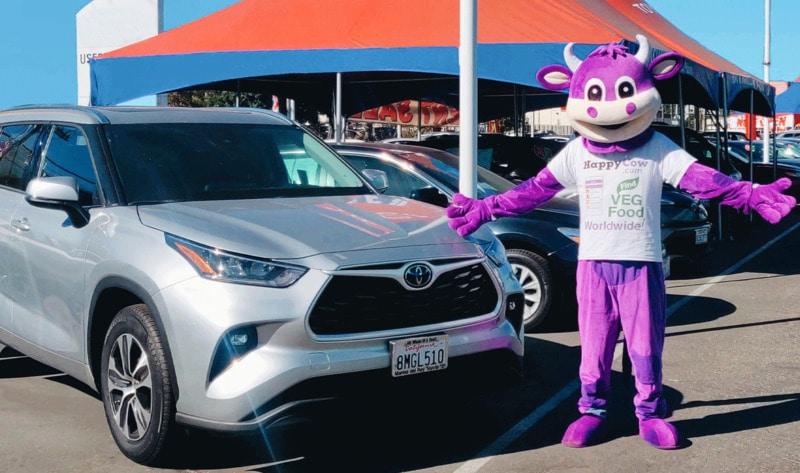 Toyota et Lexus vous aident à trouver un restaurant Vegan