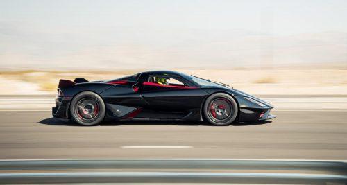La SSC Tuatara est officiellement la voiture de production la plus rapide au monde
