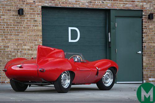 La Jaguar D-Type de Bernie Ecclestone passe à l'encan