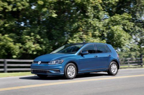 La Volkswagen Golf n'est plus