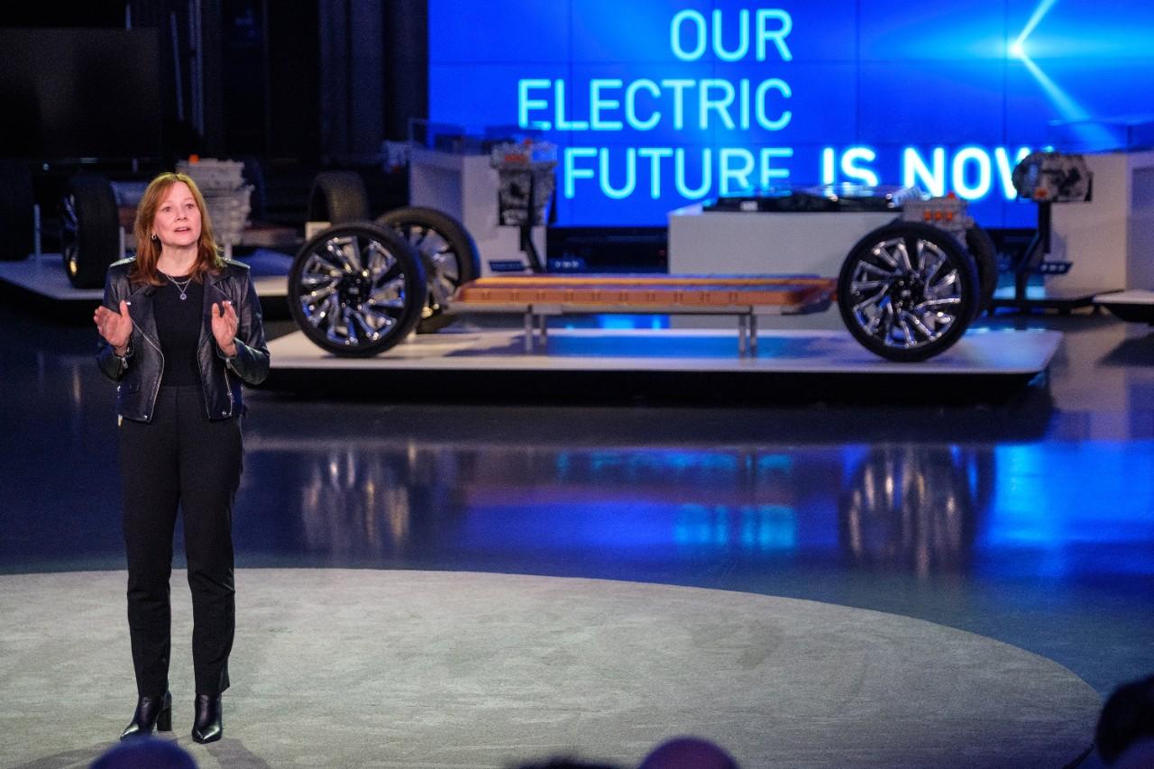 GM annonce qu'elle mettra fin aux émissions de CO2 en 2035