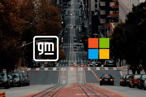 GM et Microsoft main dans la main
