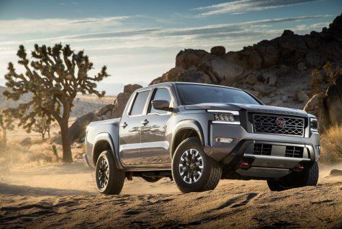 Un nouveau Nissan Frontier pour 2022