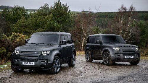 Un V8 pour la Land Rover Defender en 2022
