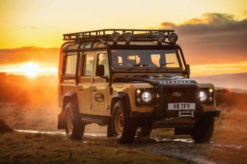Après le nouveau Defender, Land Rover ramène l'ancien