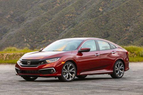 La Honda Civic demeure la voiture la plus vendue au pays