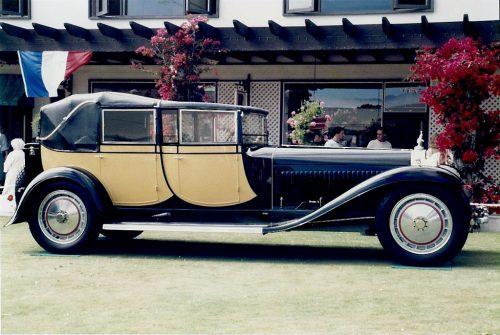 Une Bugatti Royale change de propriétaire