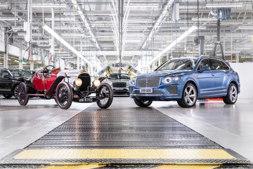 Bentley construit son 200 000e véhicule