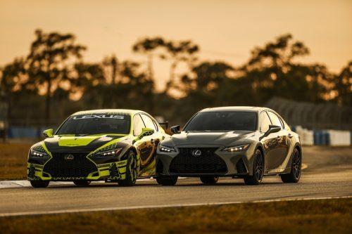 Voici la nouvelle Lexus IS 500 Launch Edition
