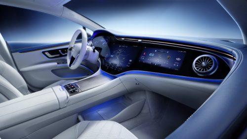 Voici l'intérieur de la future Mercedes EQS