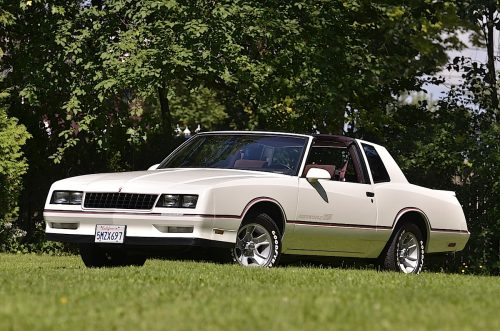 Chevrolet Monte Carlo SS1986