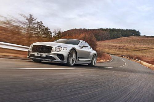 Voici la Bentley Continental Speed 2022