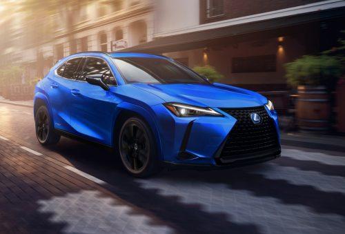 Une Lexus édition Accents noirs pour 2021