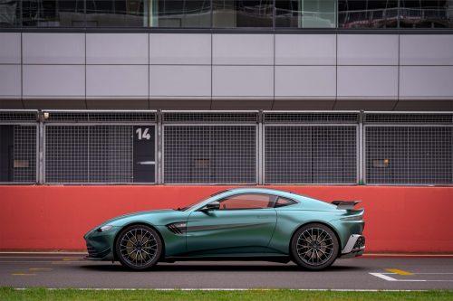 Une Aston Martin Vantage F1 Edition