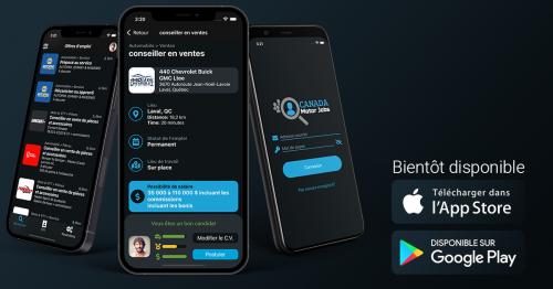 Une application mobile pour trouver un emploi dans le domaine automobile