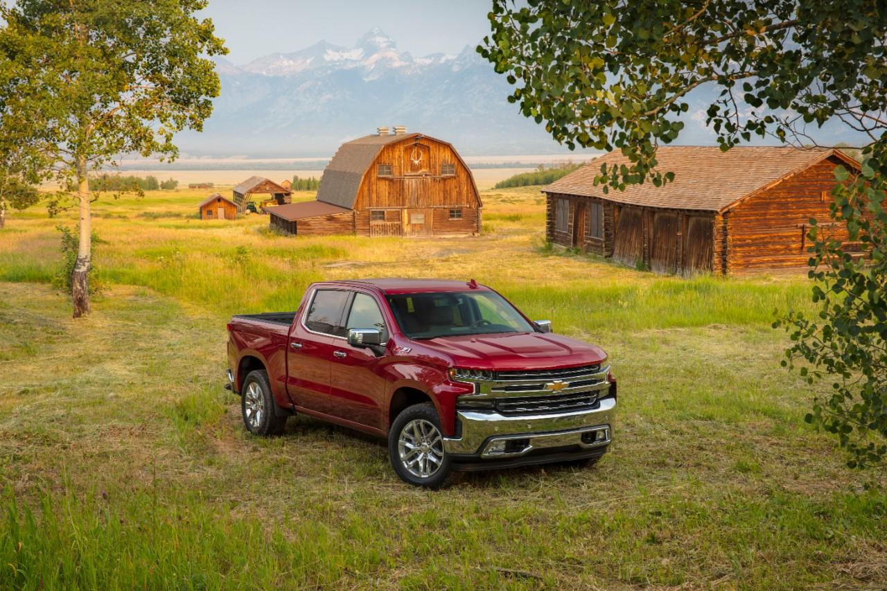 La camionnette Silverado électrique de Chevrolet offrira 640 km d'autonomie