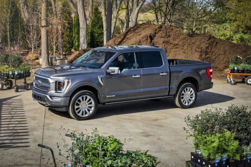 Des balances intégrées dans le Ford F-150 2021