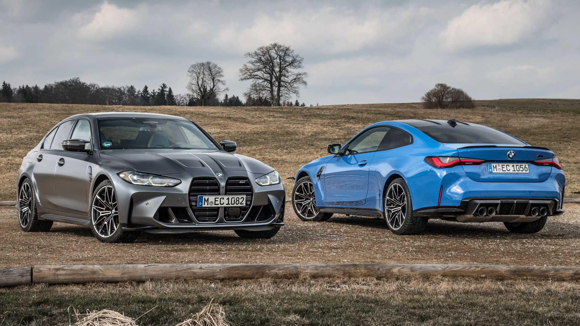 BMW présente des M3 et M4 Competition avec rouage intégral