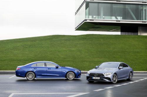 Voici la nouvelle Mercedes Benz CLS 2022