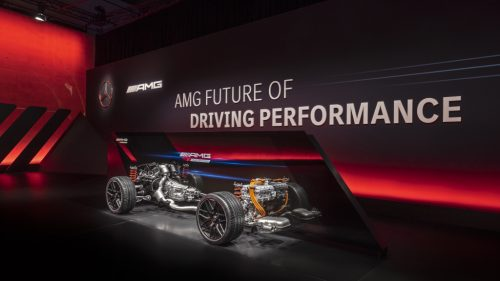 La performance AMG passe en mode hybride et électrique