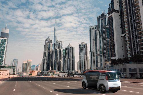 Des taxis sans conducteur à Dubai en 2023