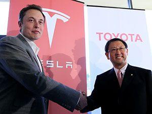 Toyota et Tesla font équipe