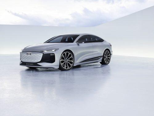 Une Audi A6 e-tron en 2023